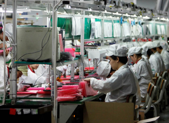 Foxxcon fabriek Coronavirus