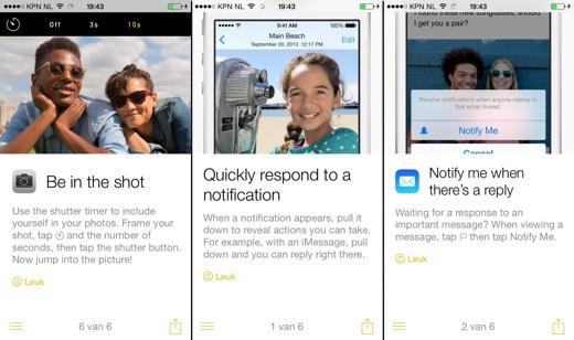 De nieuwe tips-app laat je alle verborgen functies van je iPhone of iPad zien.