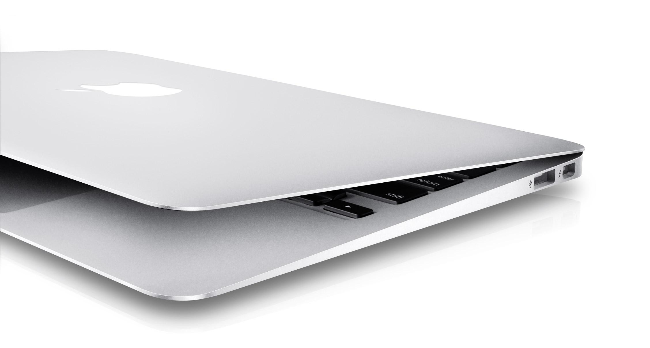Het MacBook Air design is in de jaren niet veel veranderd.