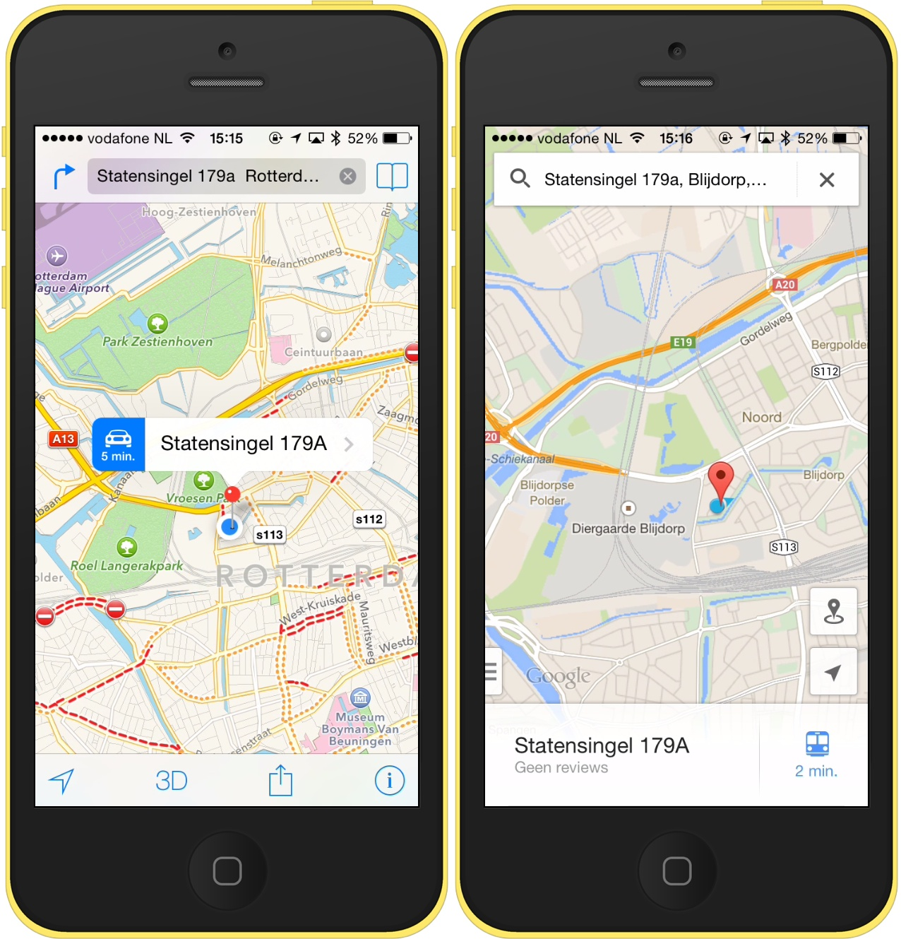 apple-google-maps-kantoor