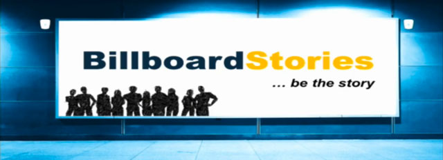 Het winnende project: Billboard Stories