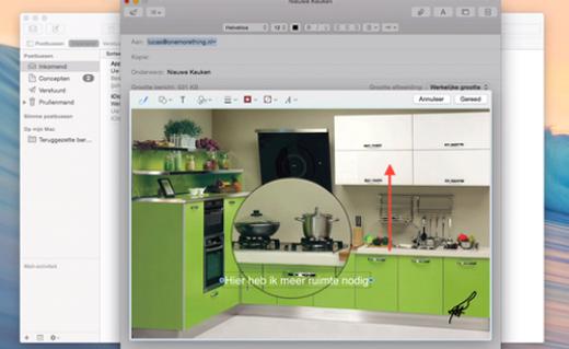 Annoteer je afbeelding makkelijk en snel met Markup