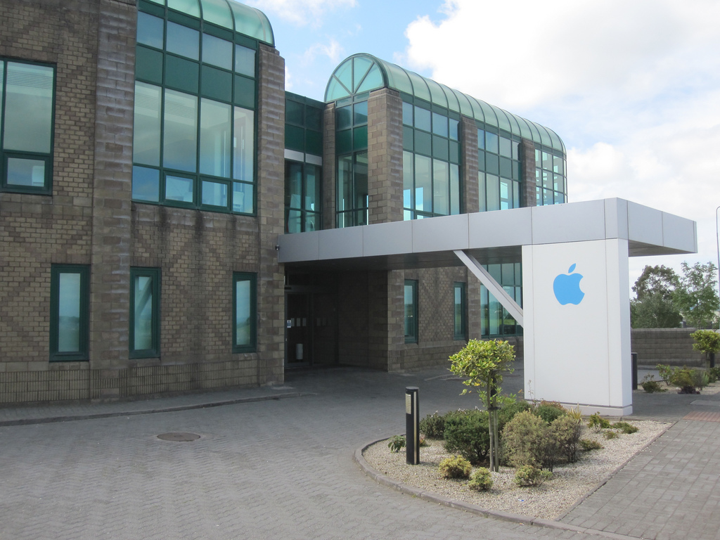 Apple-kantoor in de Ierse stad Cork.
