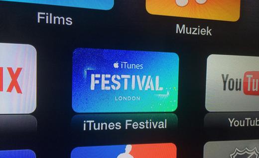 De app is automatisch toegevoegd aan het hoofdmenu.