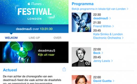 Meer informatie in iTunes voor iOS