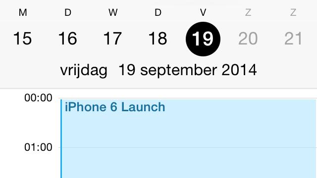 datum prikken app