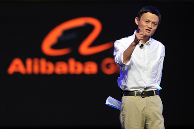 Alibaba-topman Jack Ma.