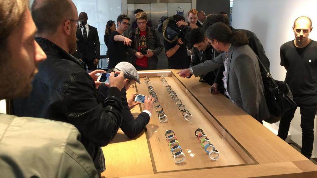 Er was geen gebrek aan aandacht voor de Apple Watch.