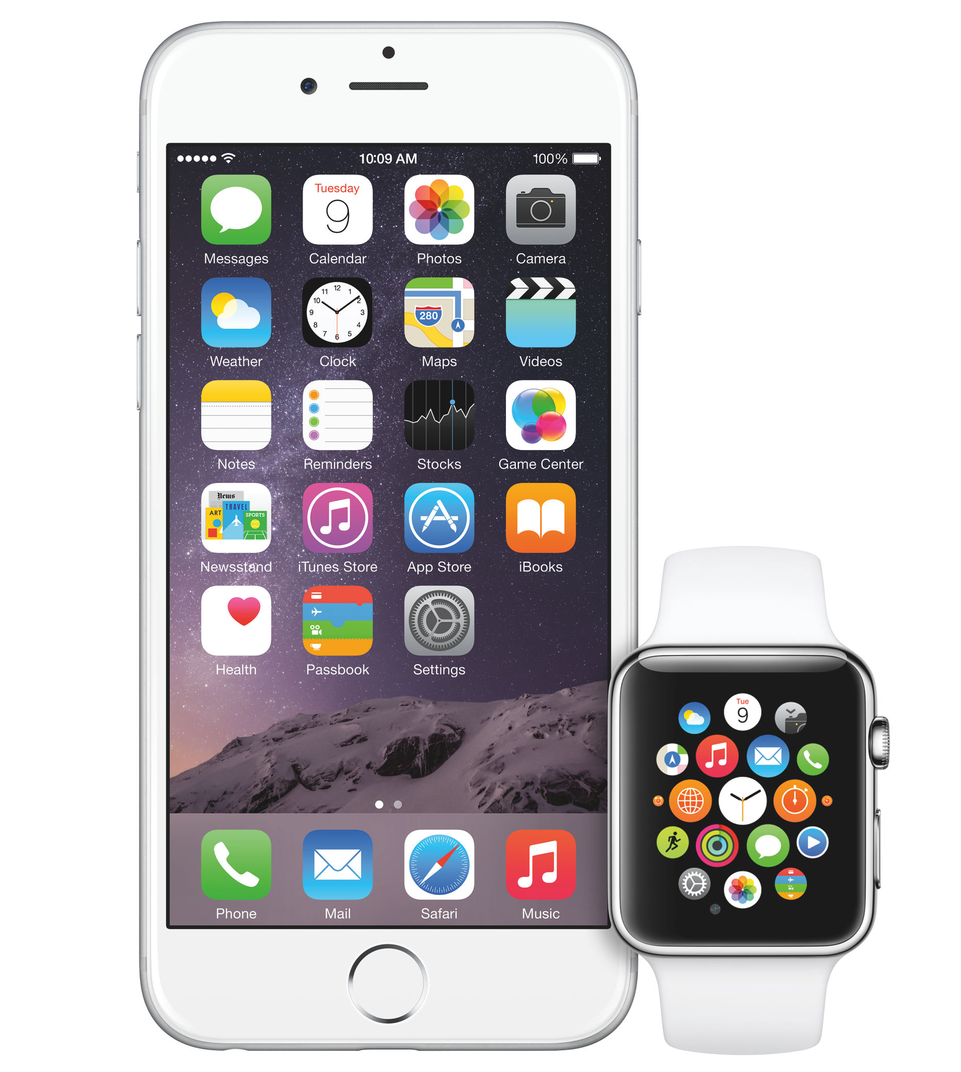 Apple Watch en iPhone (crop)