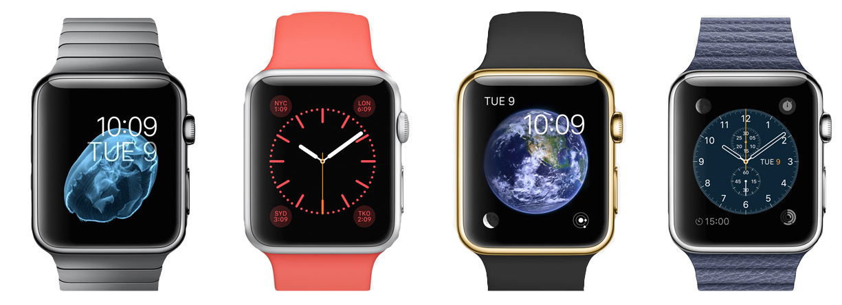 Apple Watch - watchfaces wide