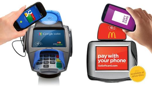 Google en Softcard zien ook een stijging in het gebruik van hun diensten