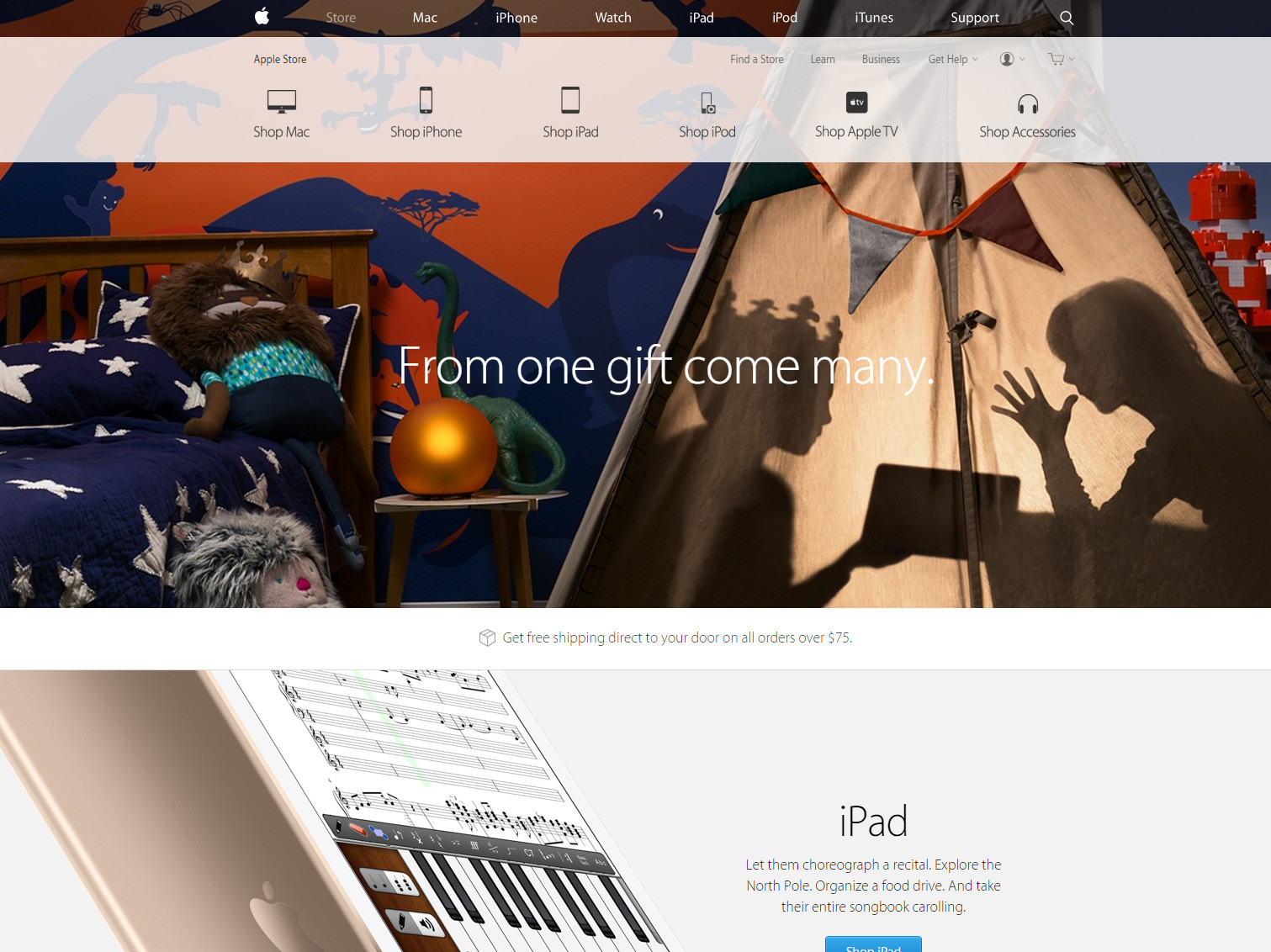 onlinestore-apple-screenshot