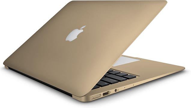 MacBook Air Gold goud 16x9