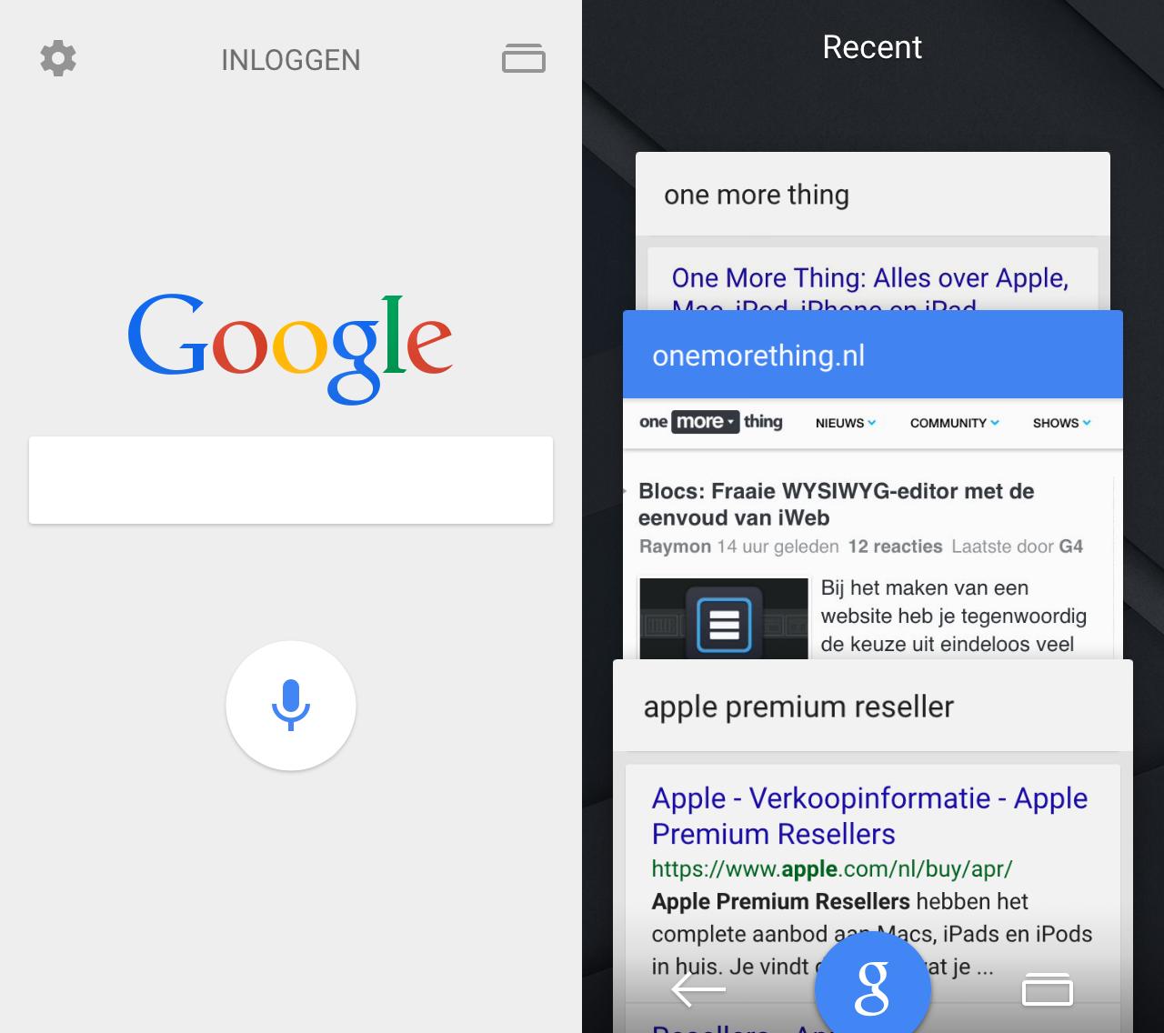 google-ios-tabs
