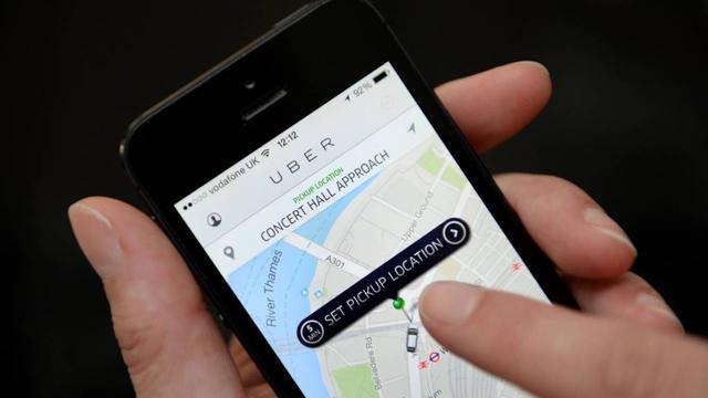 uber app op iphone