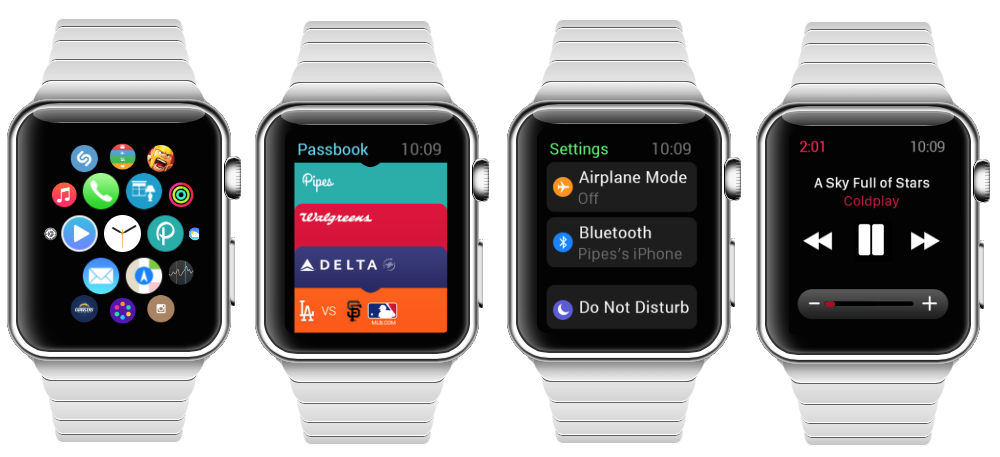 Apple Watch Demoscreens