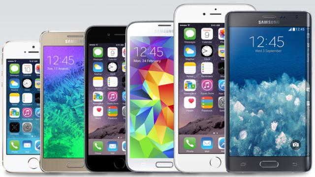 Apple iPhone - Samsung Galaxy-640
