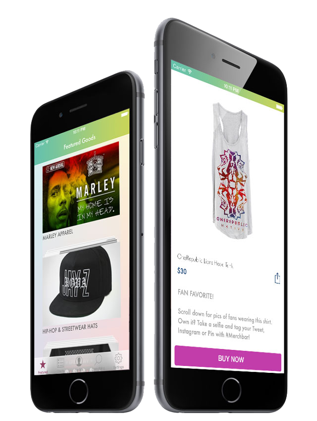 Merchbar_iPhone_App_on_Phone
