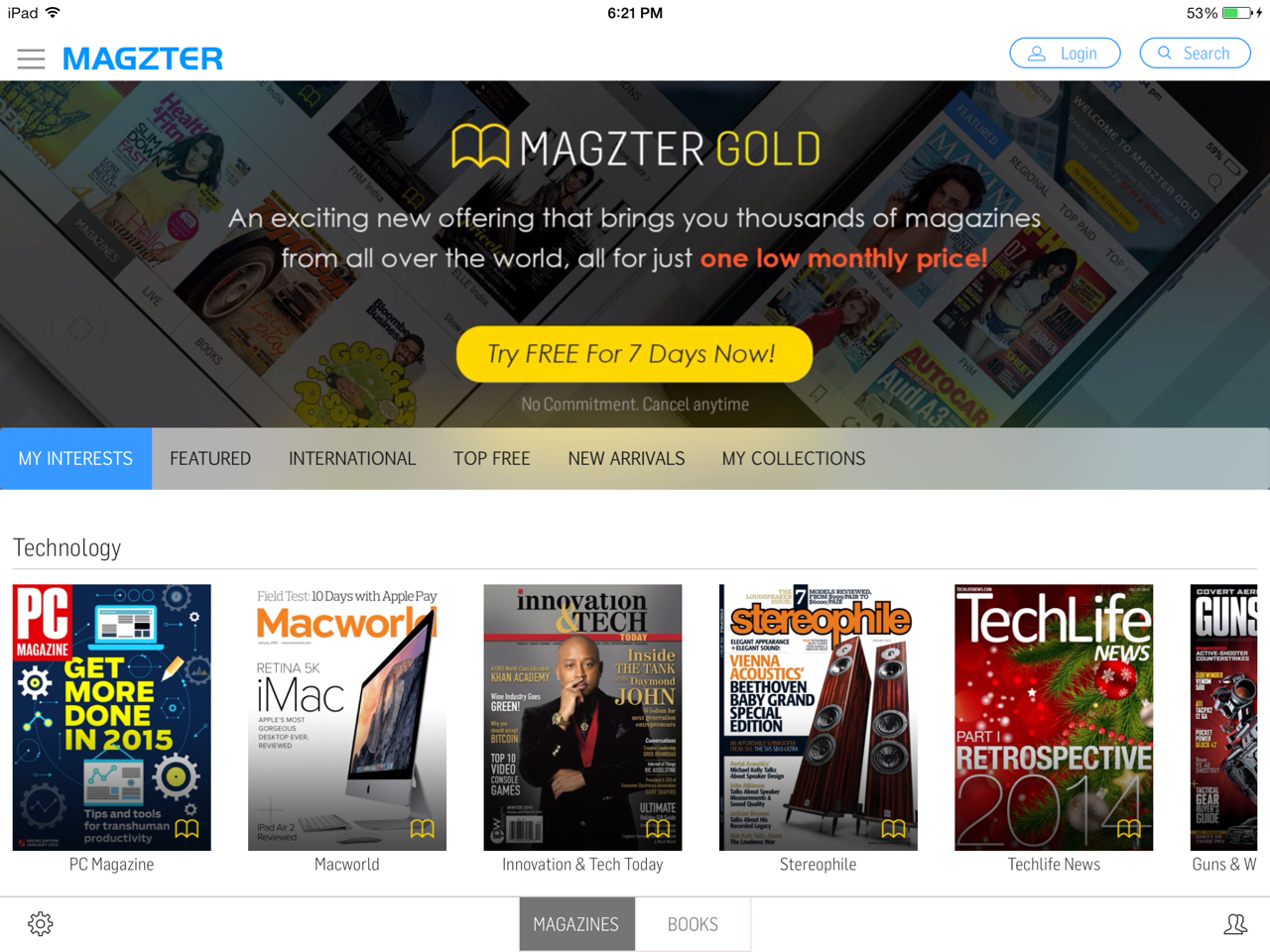 magzter-gold-ipad