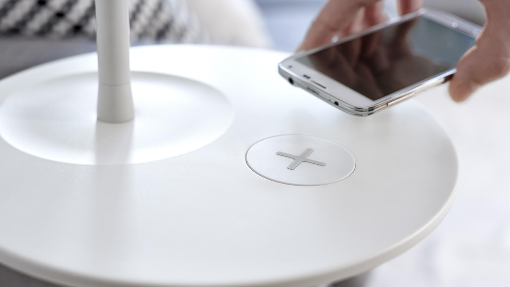 IKEA-meubels krijgen draadloze opladers