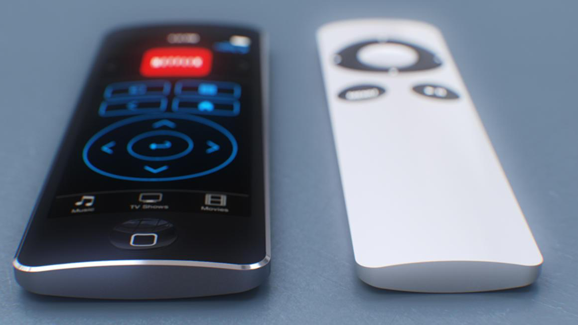 Concept: Apple TV Touch Remote.