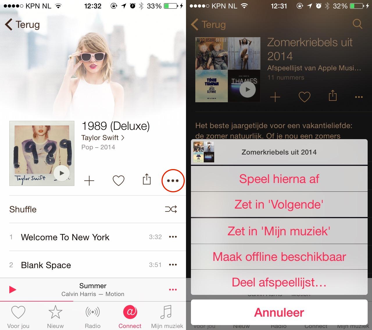 Apple Music Offline opslaan-001