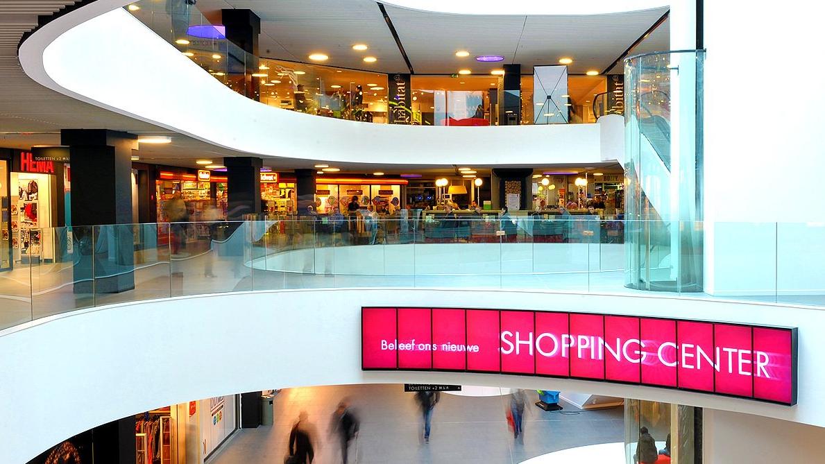 Het Grand Bazar-shoppingcentrum in Antwerpen.