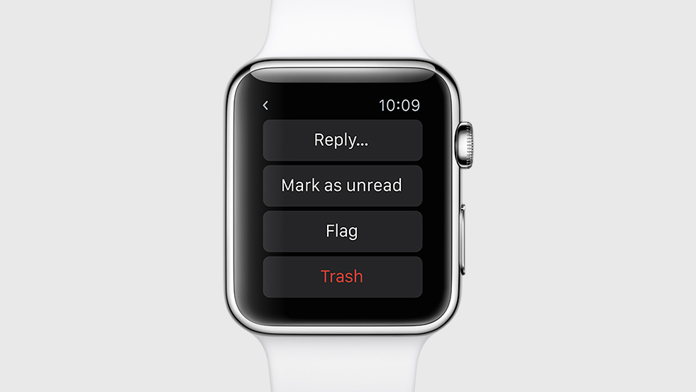 apple watch-mail-reply
