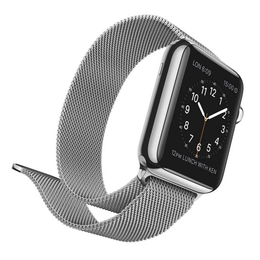 Apple Watch met de Milanise Loop