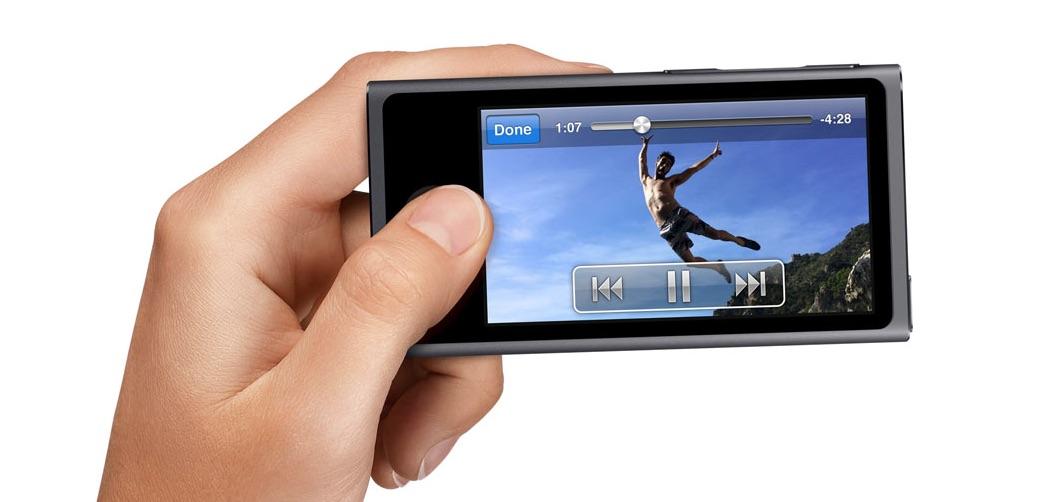 iPod nano hand
