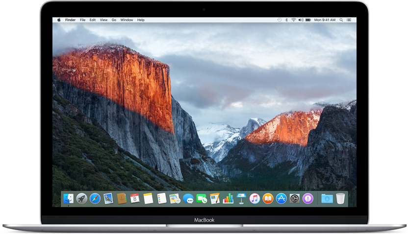 os x 10.11 el capital macbook