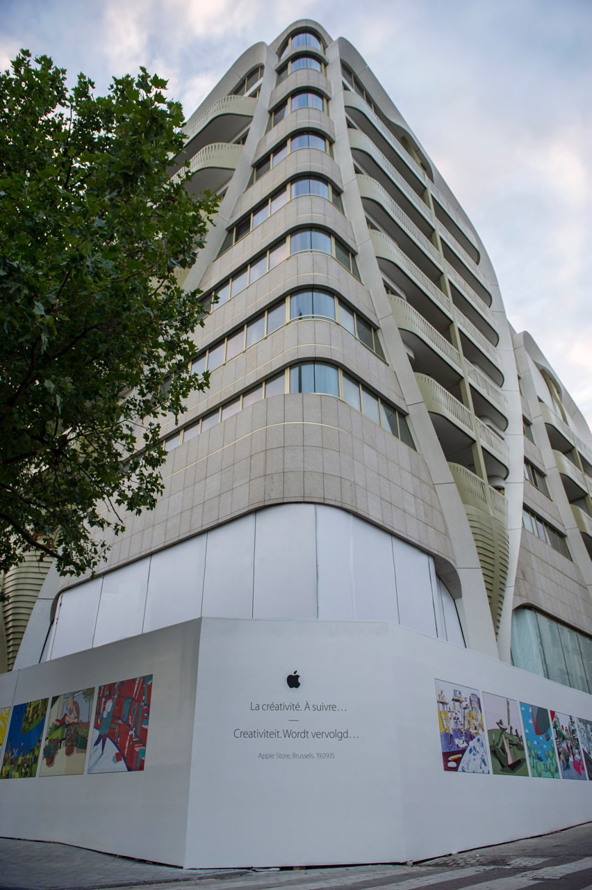 Apple Store Brussels 1