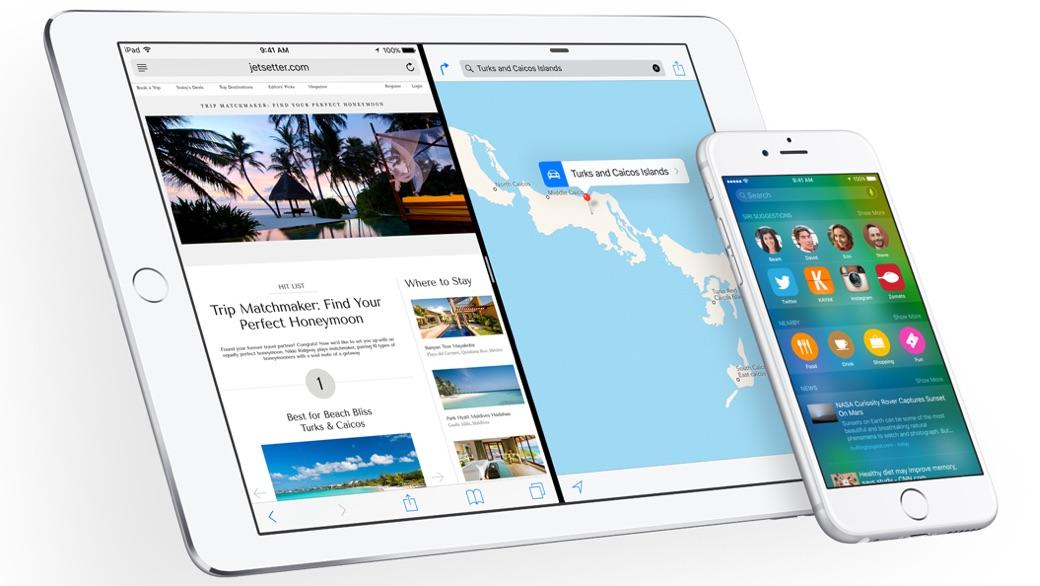 Splitview en een pro-actieve Siri in iOS 9