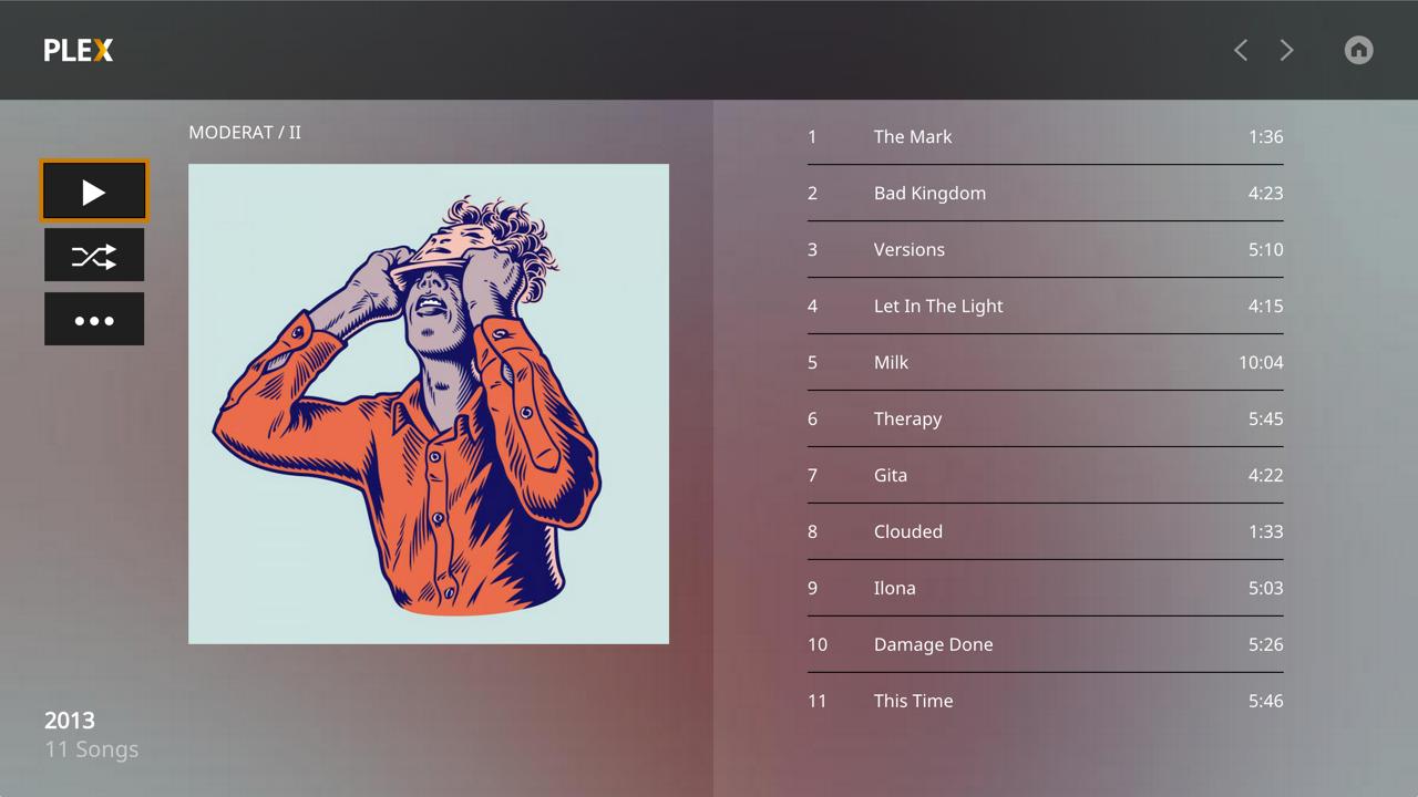 PLEX-music