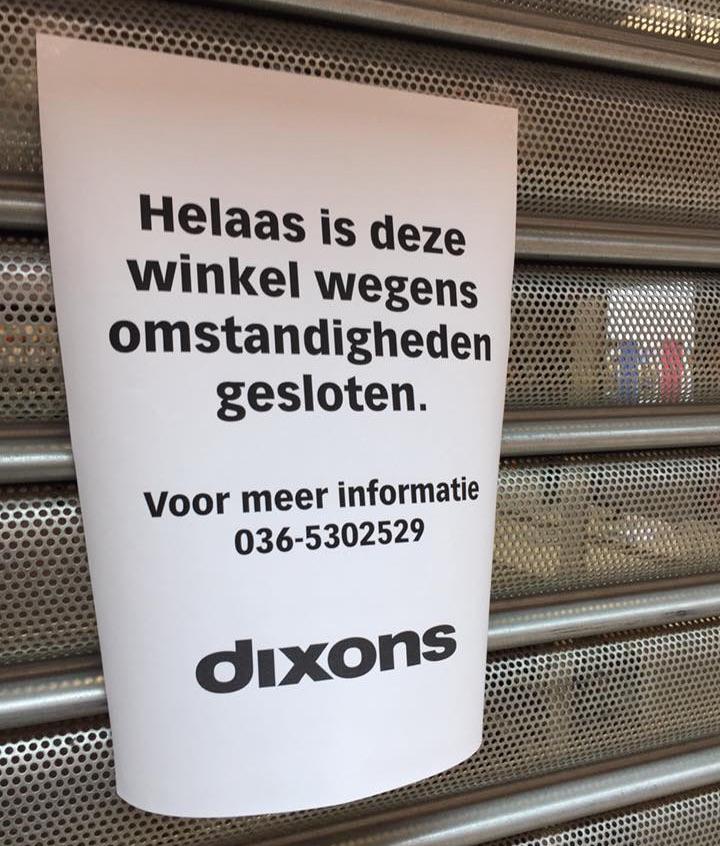 dixons-closed
