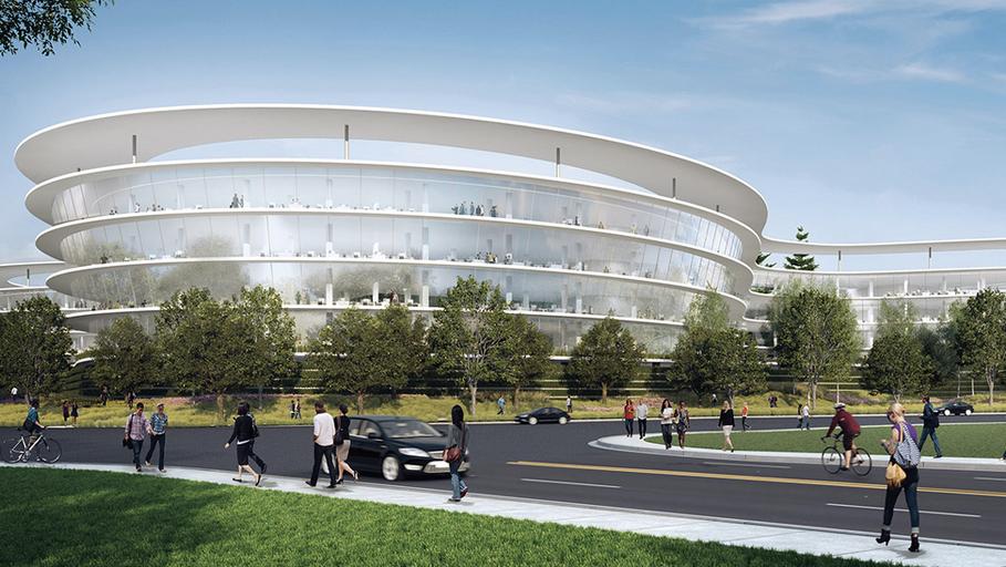 Google Hoofdkwartier Londen : Apple breidt uit in londen: nieuw hoofdkantoor in voormalige