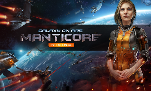 Galaxy on Fire - Manticore Rising voor Apple TV