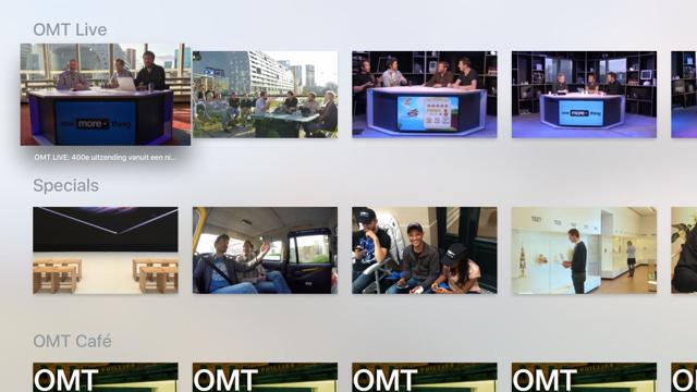 OMT Apple TV App