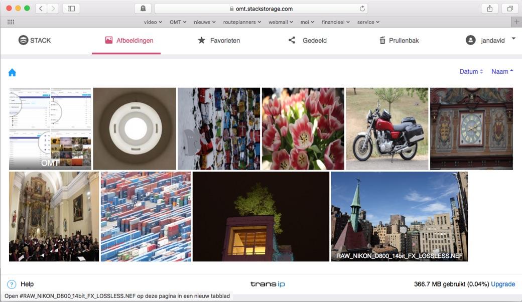 Bekijk een voorvertoning van RAW-foto's in je webbrowser.