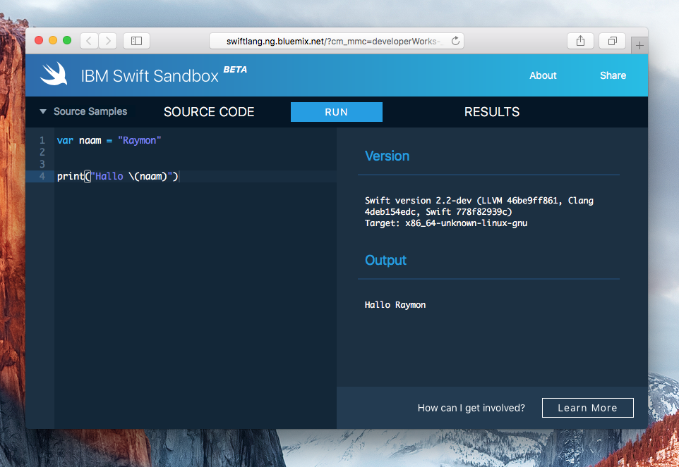 swift-sandbox