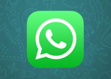 WhatsApp icon op een iPhone