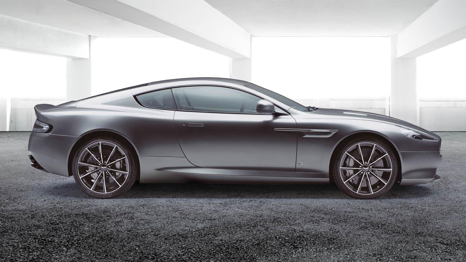 Bij Aston Martin
