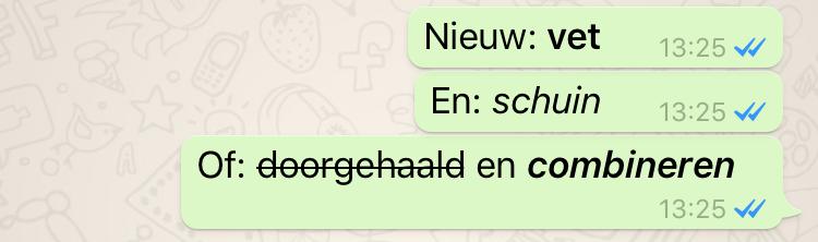 whatsapp-opmaak