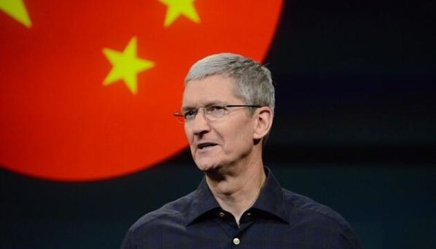 Apple Tim Cook China