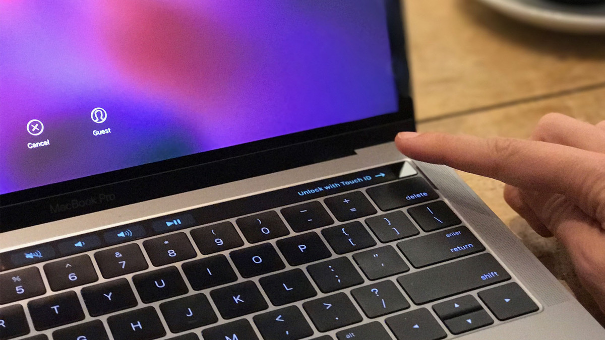 Touch ID MacBook Pro