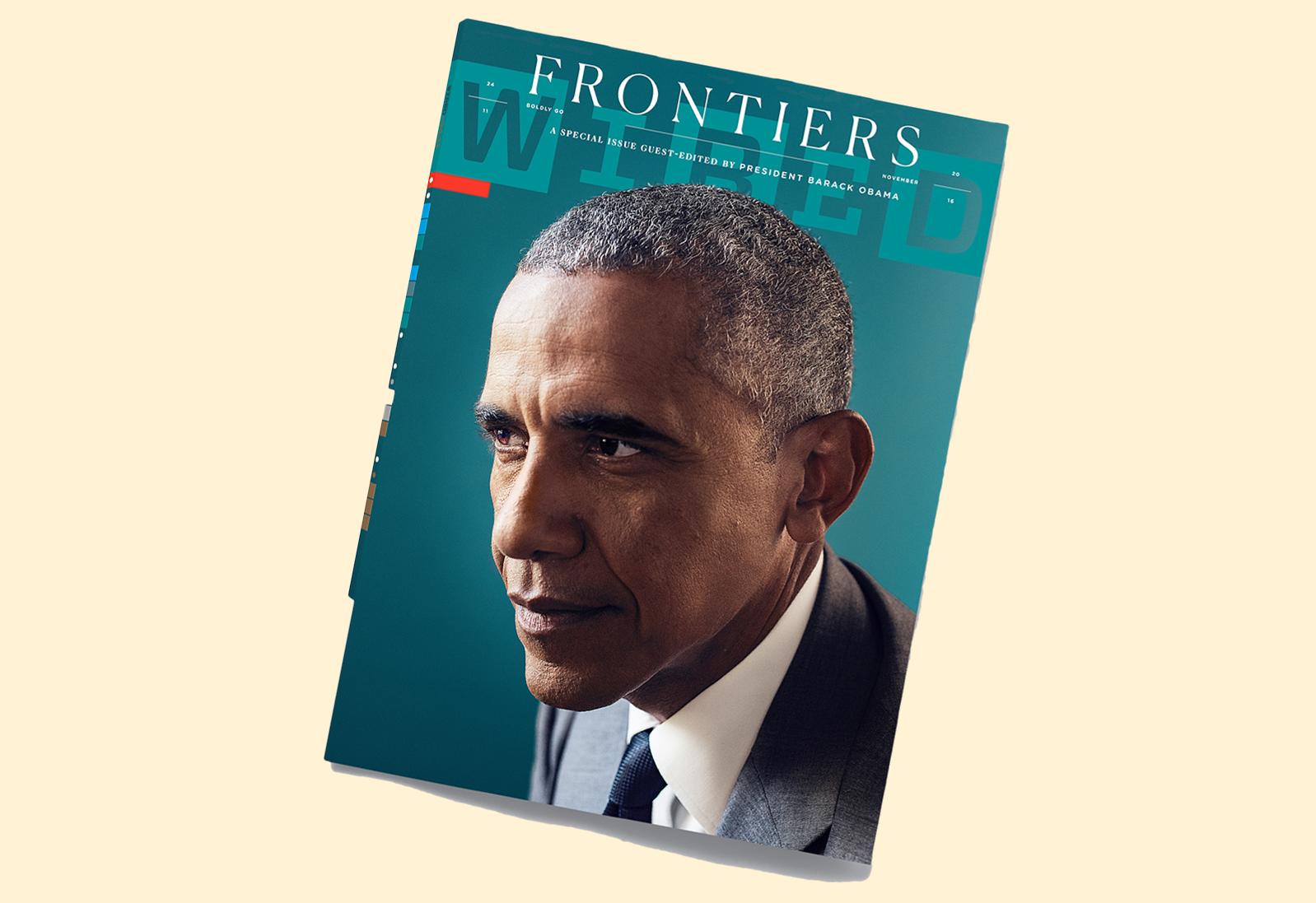 Het laatste werk van Sorrentino, een Wired-special met Barack Obama.