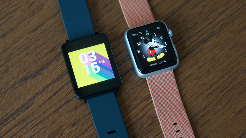 android wear apple watch