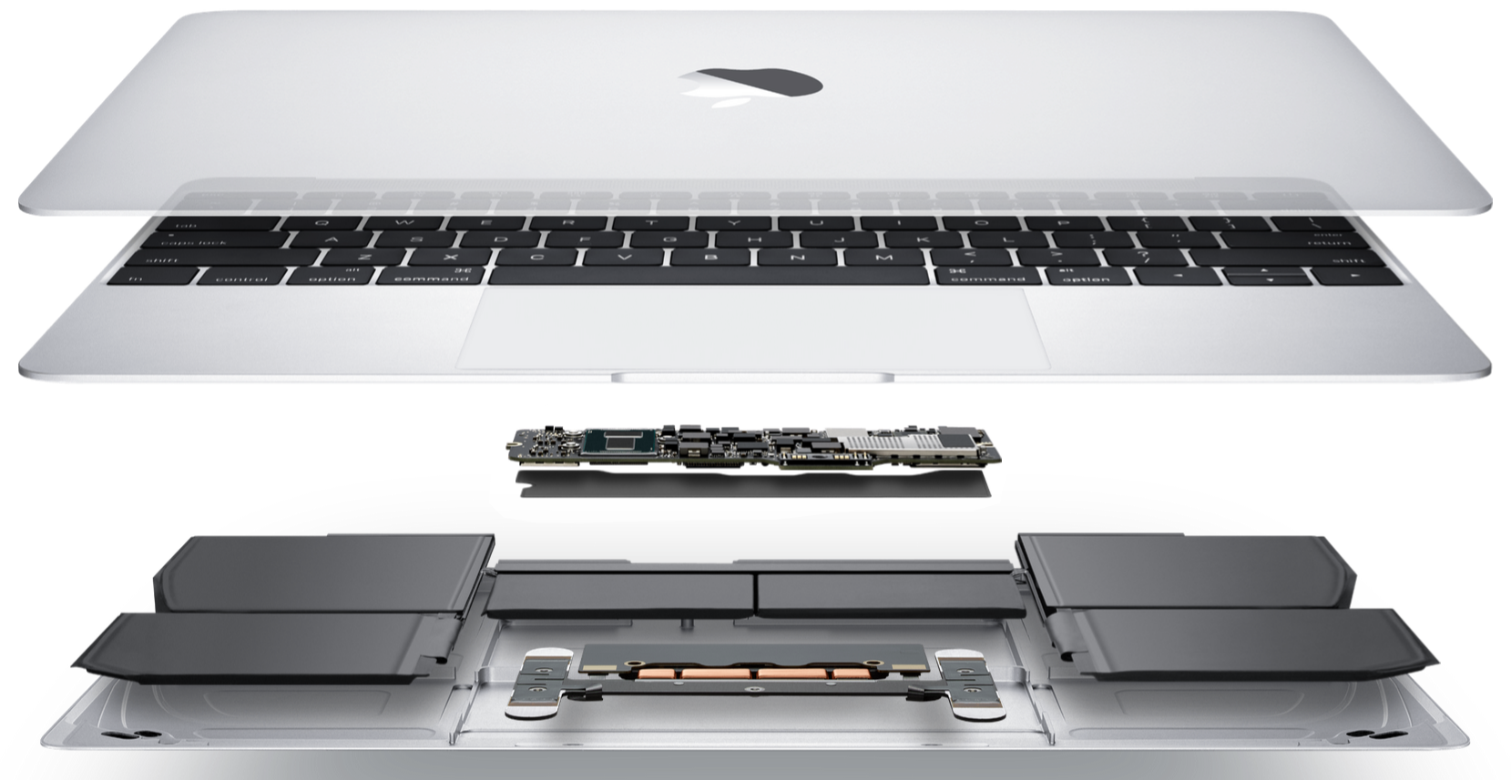 macbook gelaagde accu