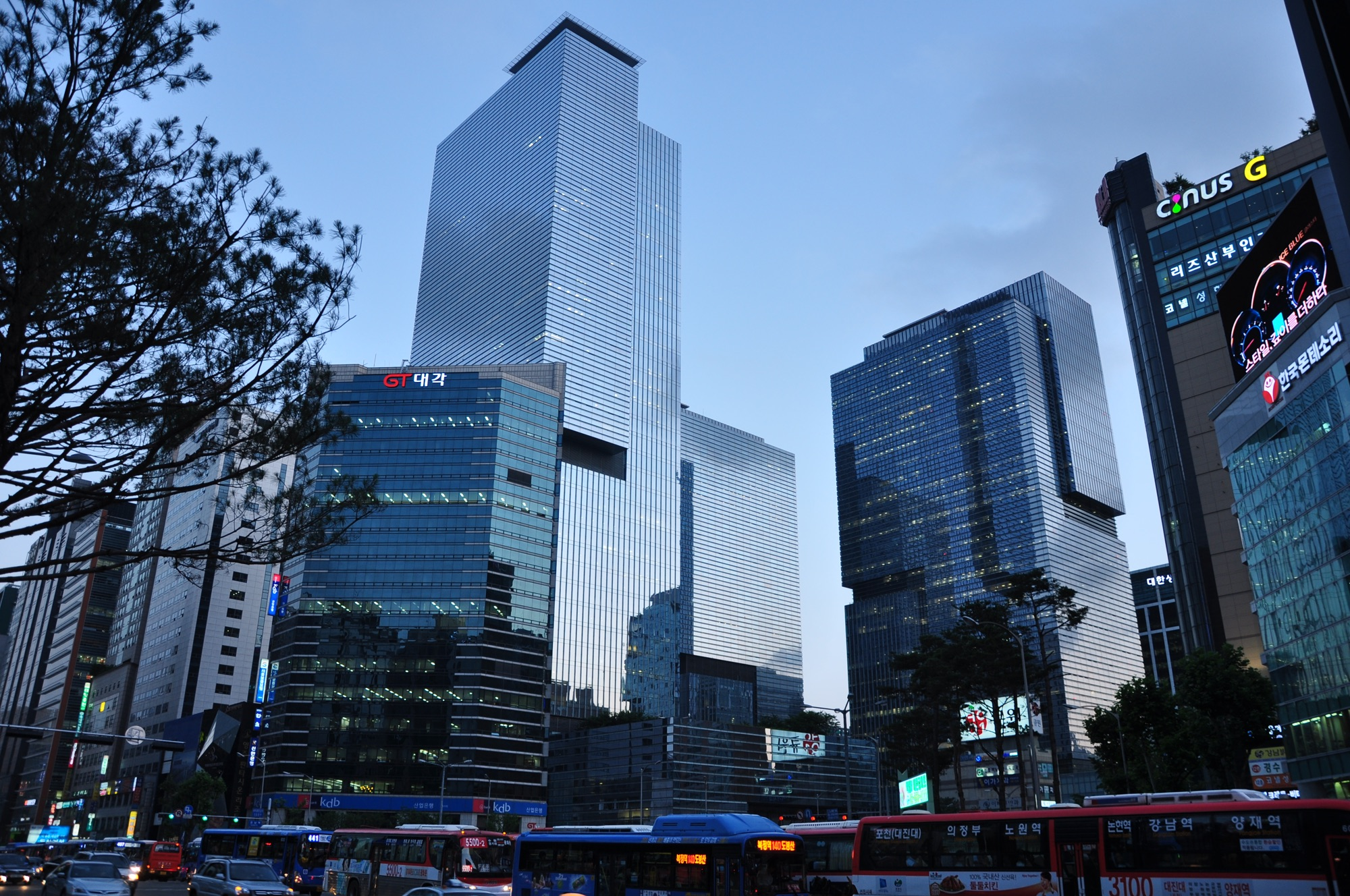 Hoofdkantoor van de Samsung Group in Seoel.