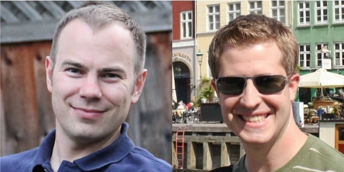 Chris Lattner en Ted Kremenek